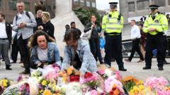 Flowers at London Bridge