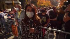The BBC's Nomia Iqbal in Philadelphia