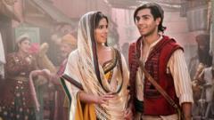 Jasmine and Aladdin.
