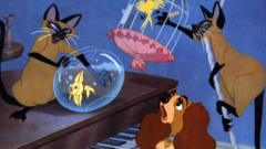 Siamese cats in Lady and the Tramp, Si and Am