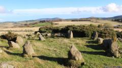 Recumbent Stone Circle in Aberdeenshire