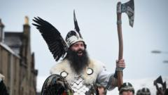 Viking at Helly Aa