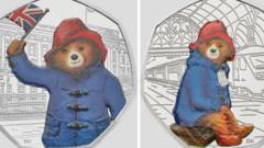 Paddington bear coins released