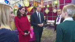 Duke and Duchess speak to Josh