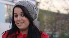 Dani Harmer who plays CBBC's Tracy Beaker