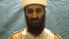 A video still of Osama Bin Laden, released by the US Department of Defence(DoD)