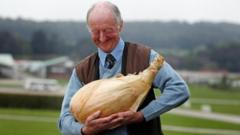 Peter Glazebrook and his record-breaking onion