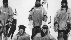 Captain Scott's expedition to the South Pole