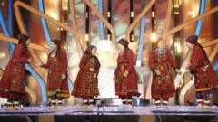 Russian grannies set their sights on Eurovision win.