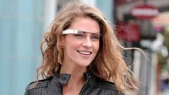 Google reveal futuristic glasses