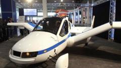 Terrafugia Transition, the flying car