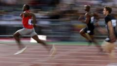 Usain Bolt wins in Rome