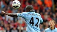 Manchester City player Yaya Toure
