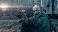 "Lord Voldemort in a scene from ""Harry Potter and the Deathly Hallows: Part 2."