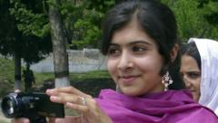 Pakistan schoolgirl Malala Yousafzai