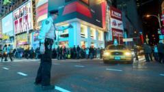 Police officer in New York City