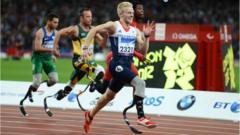 Men's 100m race at 2012 Paralympics