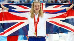 Four-time Olympic medalist Rebecca Adlington looks set to retire from swimming
