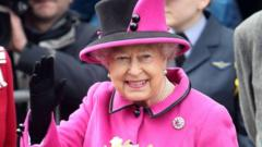The Queen on 5 April 2013