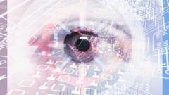 Computer surveillance graphic