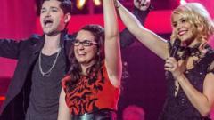 The Voice winner Andrea Begley