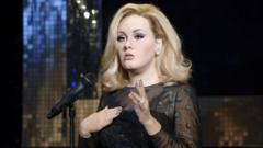 Waxwork of Adele