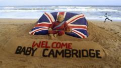 sand castle for royal baby