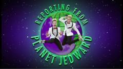 John and Edward known as Jedward