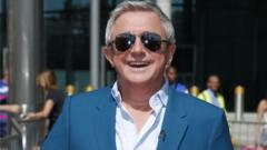 X Factor judge Louis Walsh
