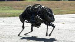 WildCat robot by Boston Dynamics