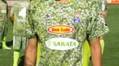 Spanish football team La Hoya shirt
