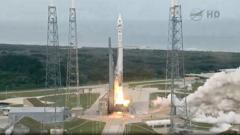 The Nasa launch