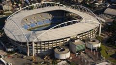 Rio 2016 Olympic stadium