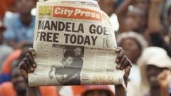 Mandela news article