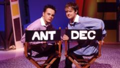 Ant & Dec on The Ant & Dec Show in 1995
