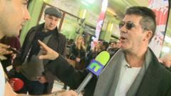 Ricky interviews Simon Cowell