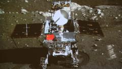 Moon rover called Jade Rabbit