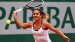 Heather Watson playing in first round of French Open