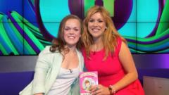 Ellie Simmonds and Jenny Lawrence