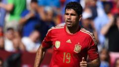 Spain's Diego Costa