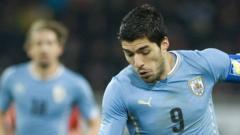 Uruguay's Luis Suarez