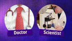 Doctor and a scientist