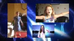 Children perform Let It Go from Frozen