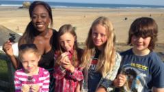 Ayshah and kids