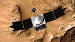 Maven satellite