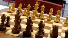 A chess board
