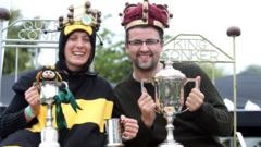 John Doyle is crowned Conker King