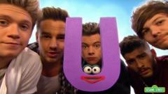 One Direction on Sesame Street