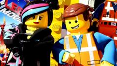 Two Lego characters