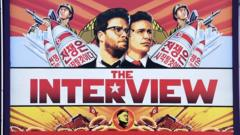 Film poster of The Interview